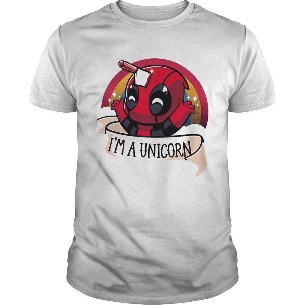 Deadpool Im A Unicorn  Unisex