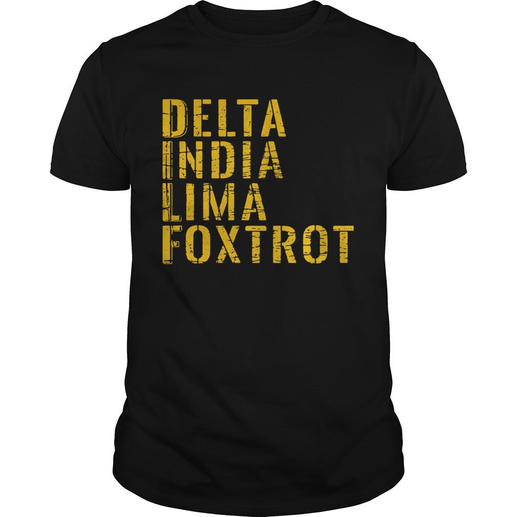 Delta India Lima Foxtrot  Unisex