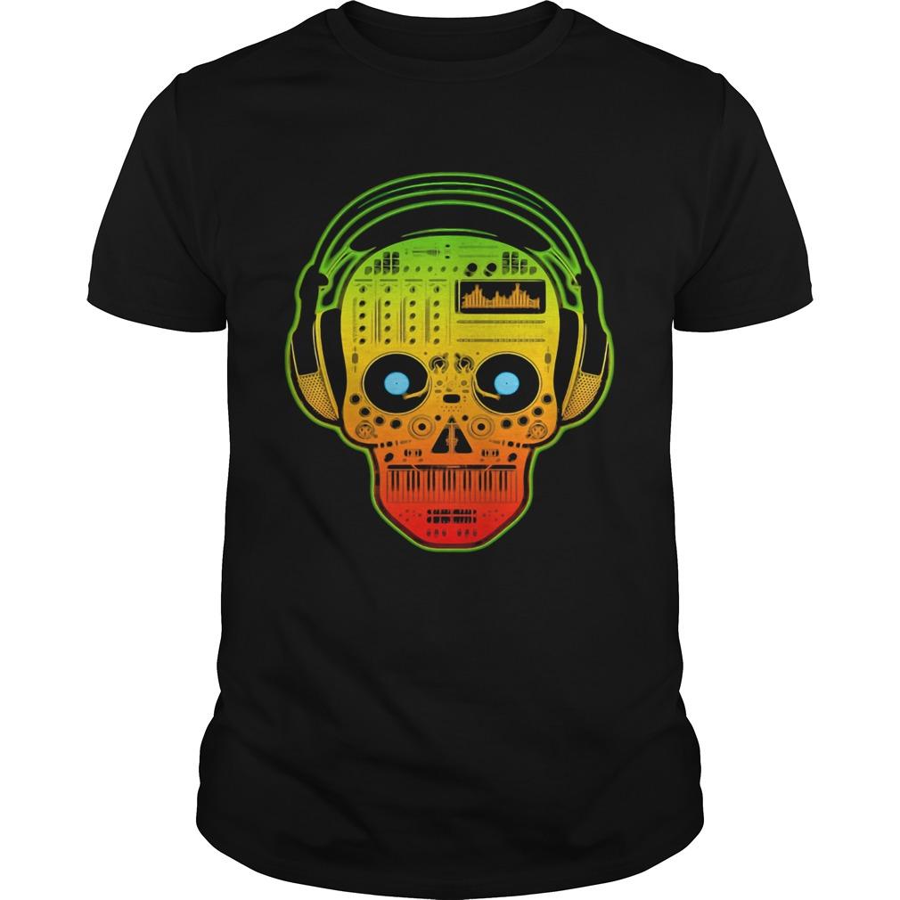 DJ Sugar Skull  Unisex