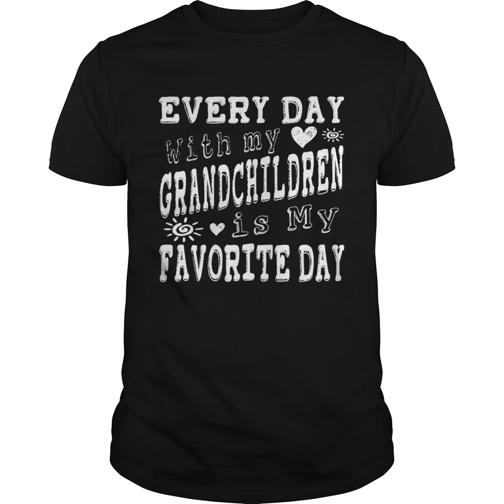 Every Day With My Grandchildren Is My Favorite Day Vintage  Unisex