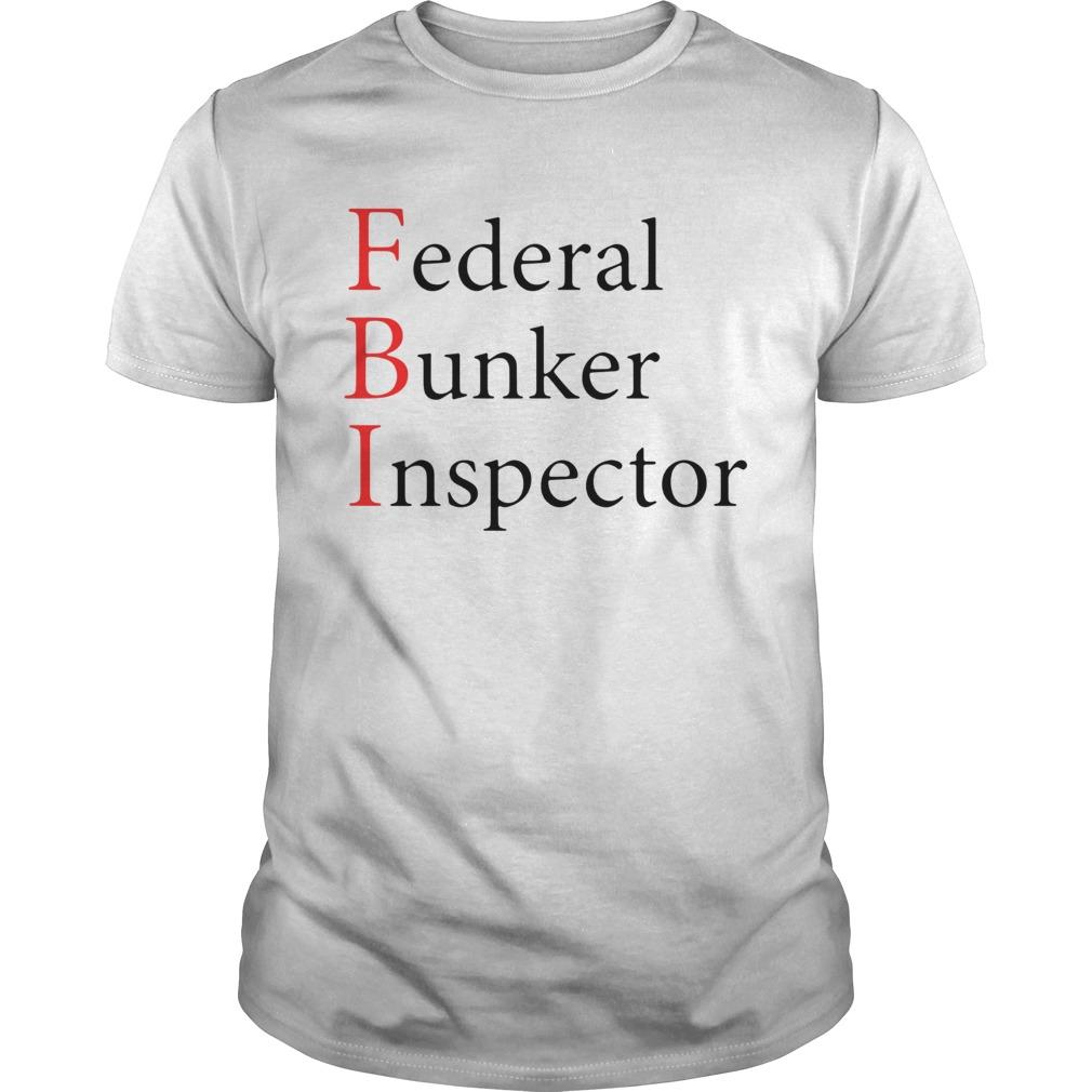 FBI Federal Bunker Inspector  Unisex