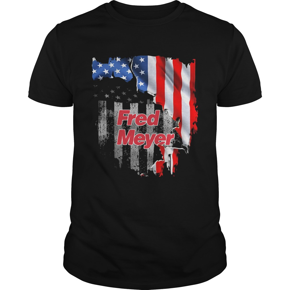 Fred meyer american flag independence day  Unisex