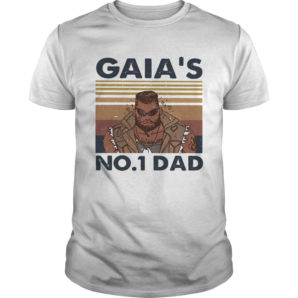 Gaias no 1 dad vintage retro  Unisex
