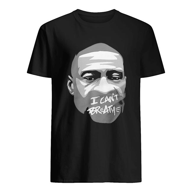 George floyd I can't breathe art 2020  Classic Men's T-shirt