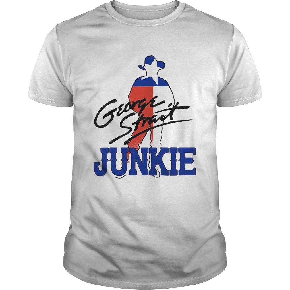 George strait junkie flag signature  Unisex