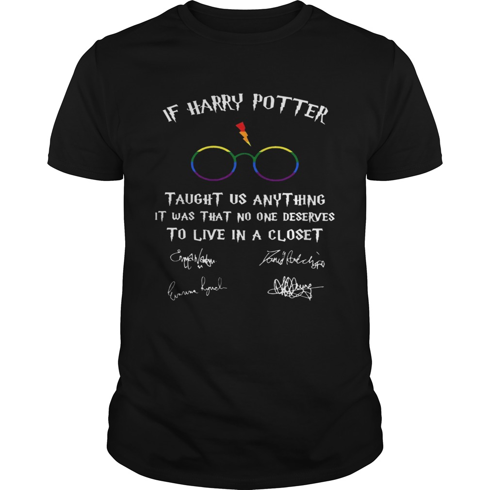 Happy LGBT If Harry Potter Taught Us Anything It Was That No One  Unisex