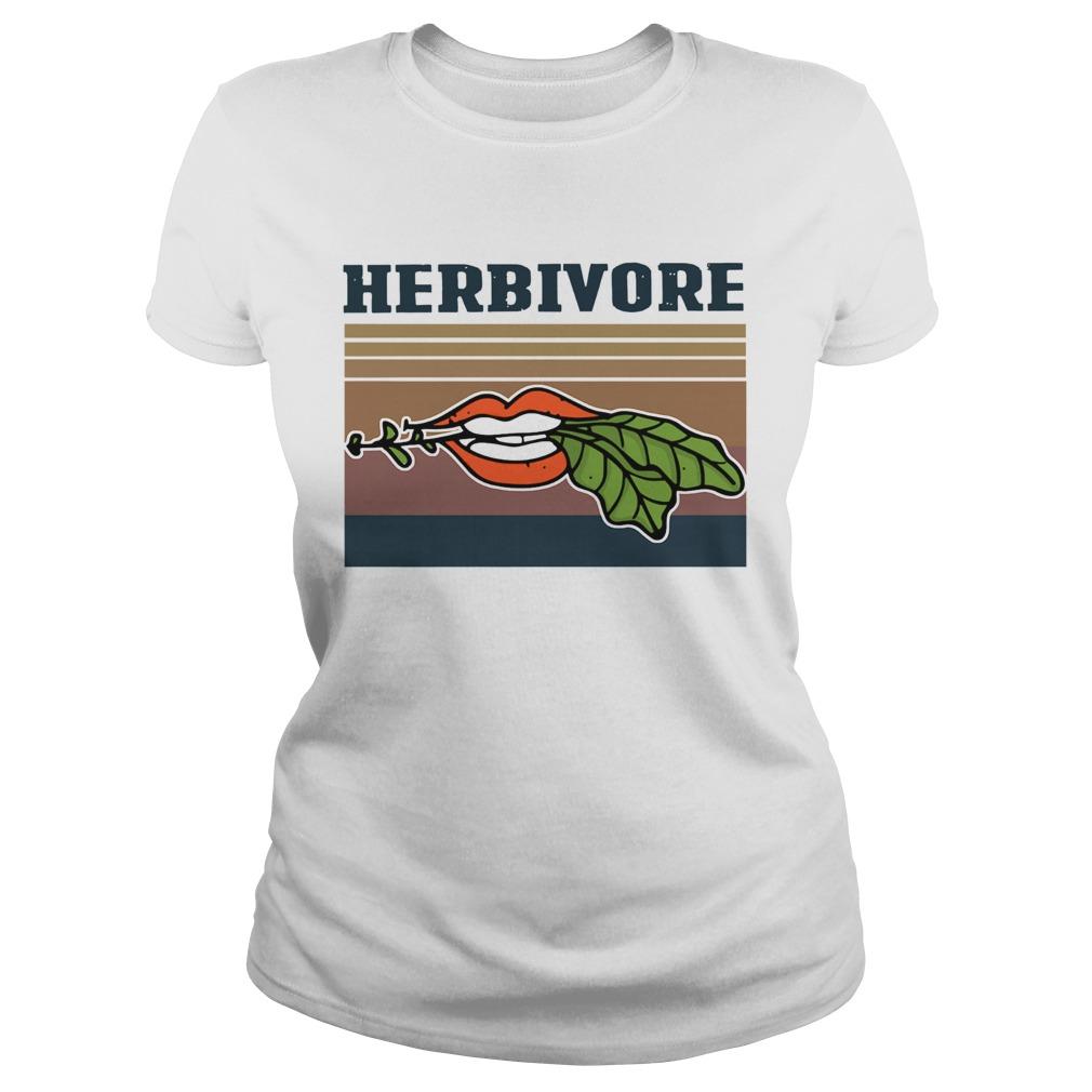 Hardcore Herbivore Vintage  Classic Ladies