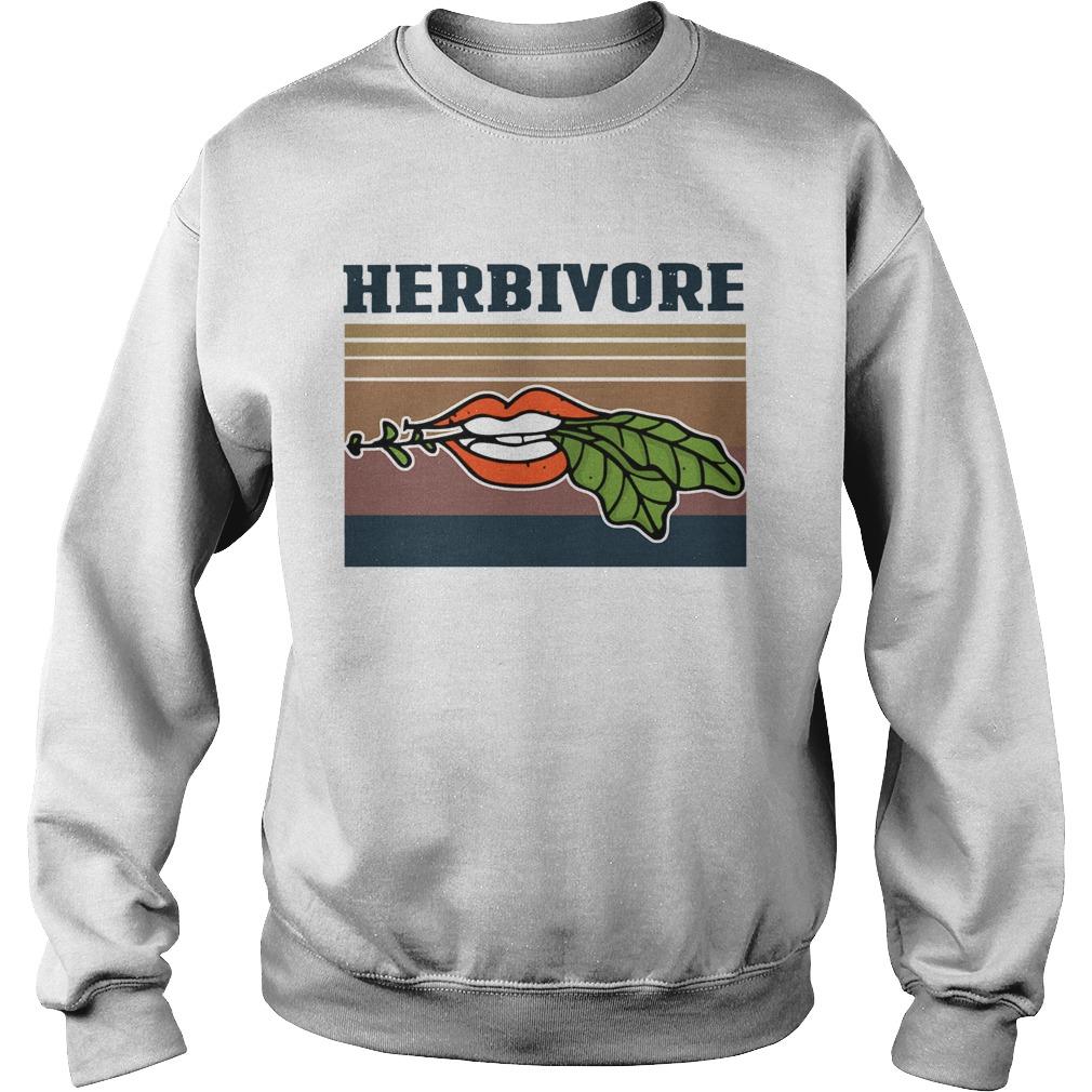 Hardcore Herbivore Vintage  Sweatshirt