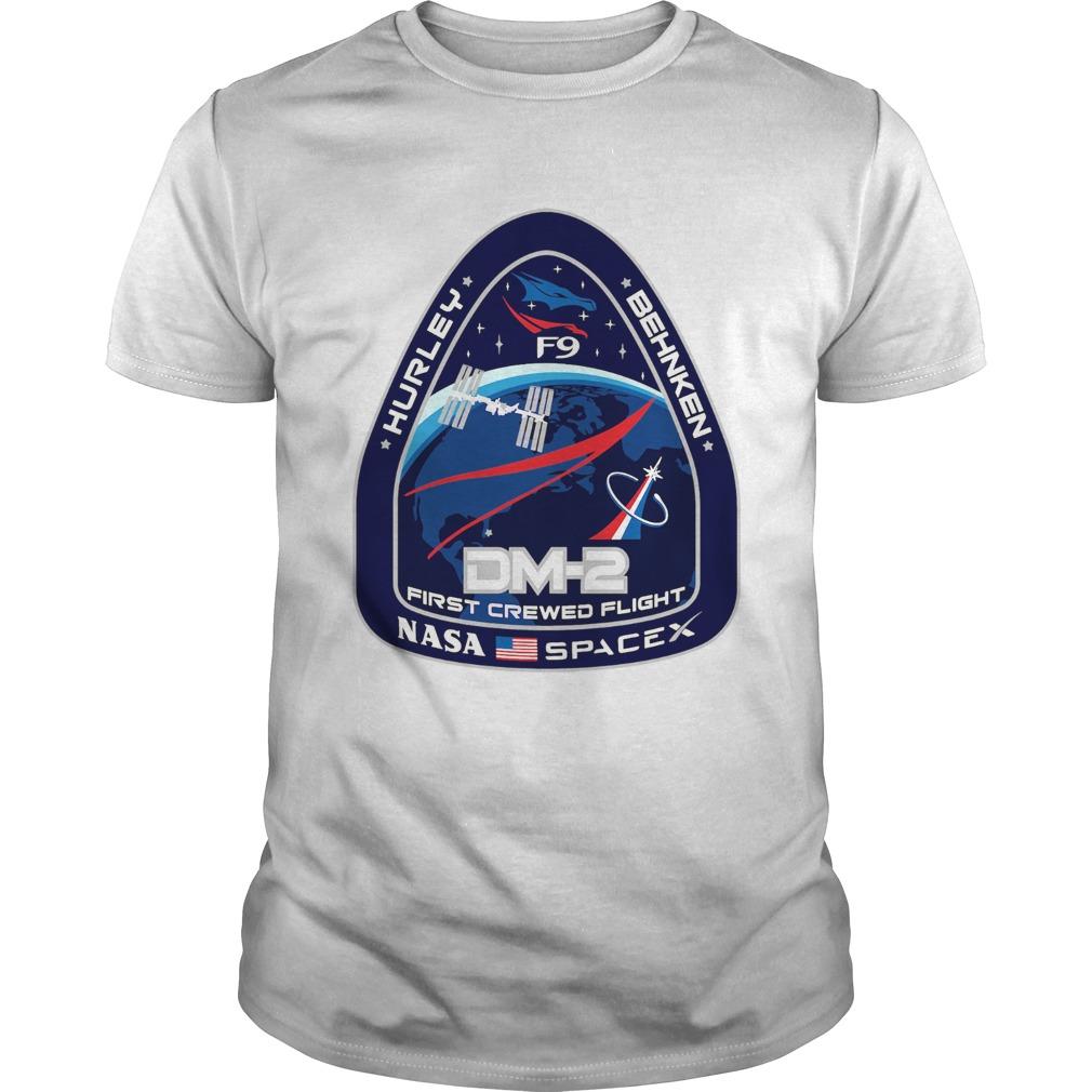 Hurley Behnken Dm2 First Crewed Flight Nasa SpaceX  Unisex
