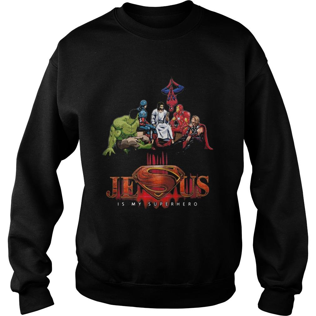 Jesus is my superhero light shirt - Tentenshirts