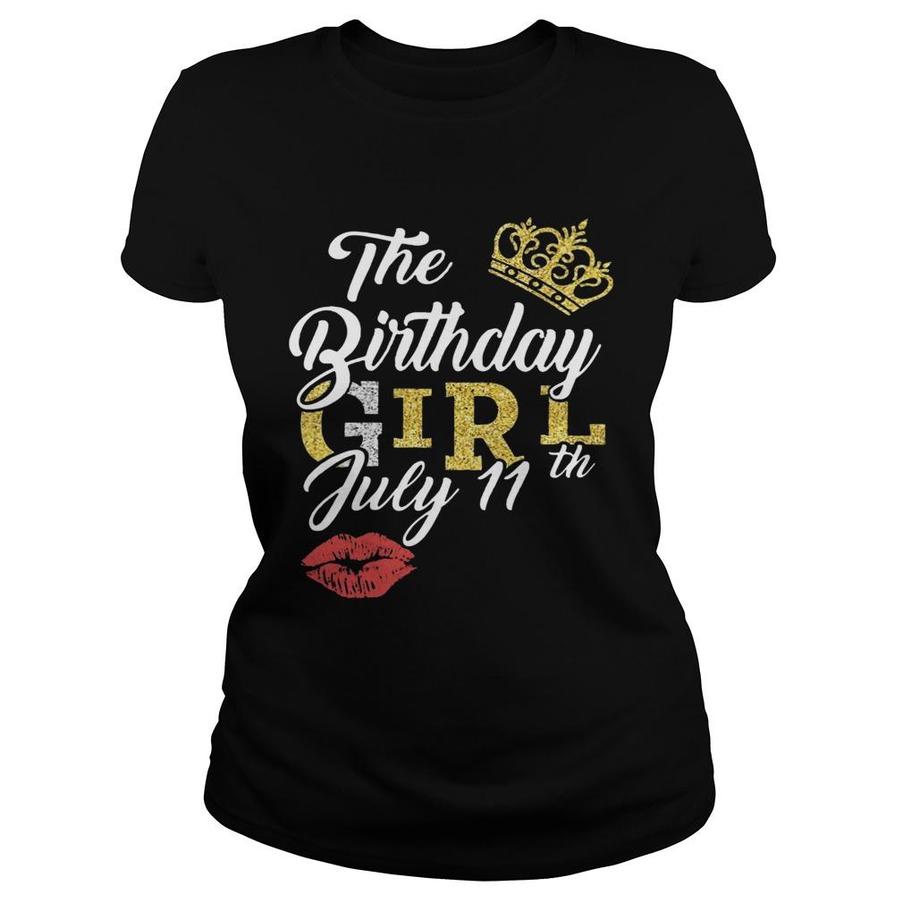 July Birthday Girl July 11th  Classic Ladies