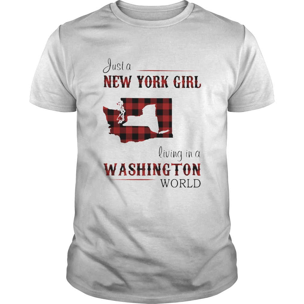 Just a new york girl living in a washington world  Unisex