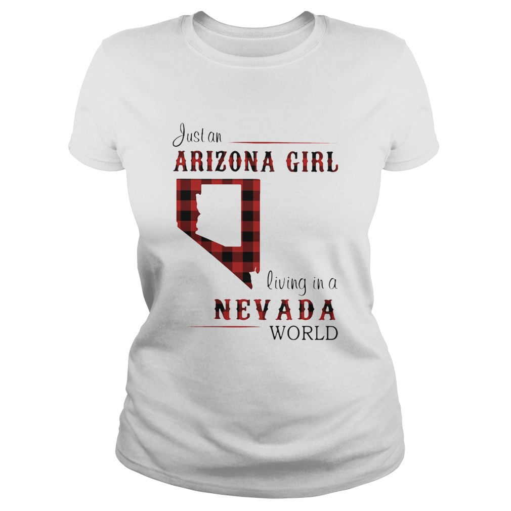 Just an arizona girl living in a nevada world map  Classic Ladies