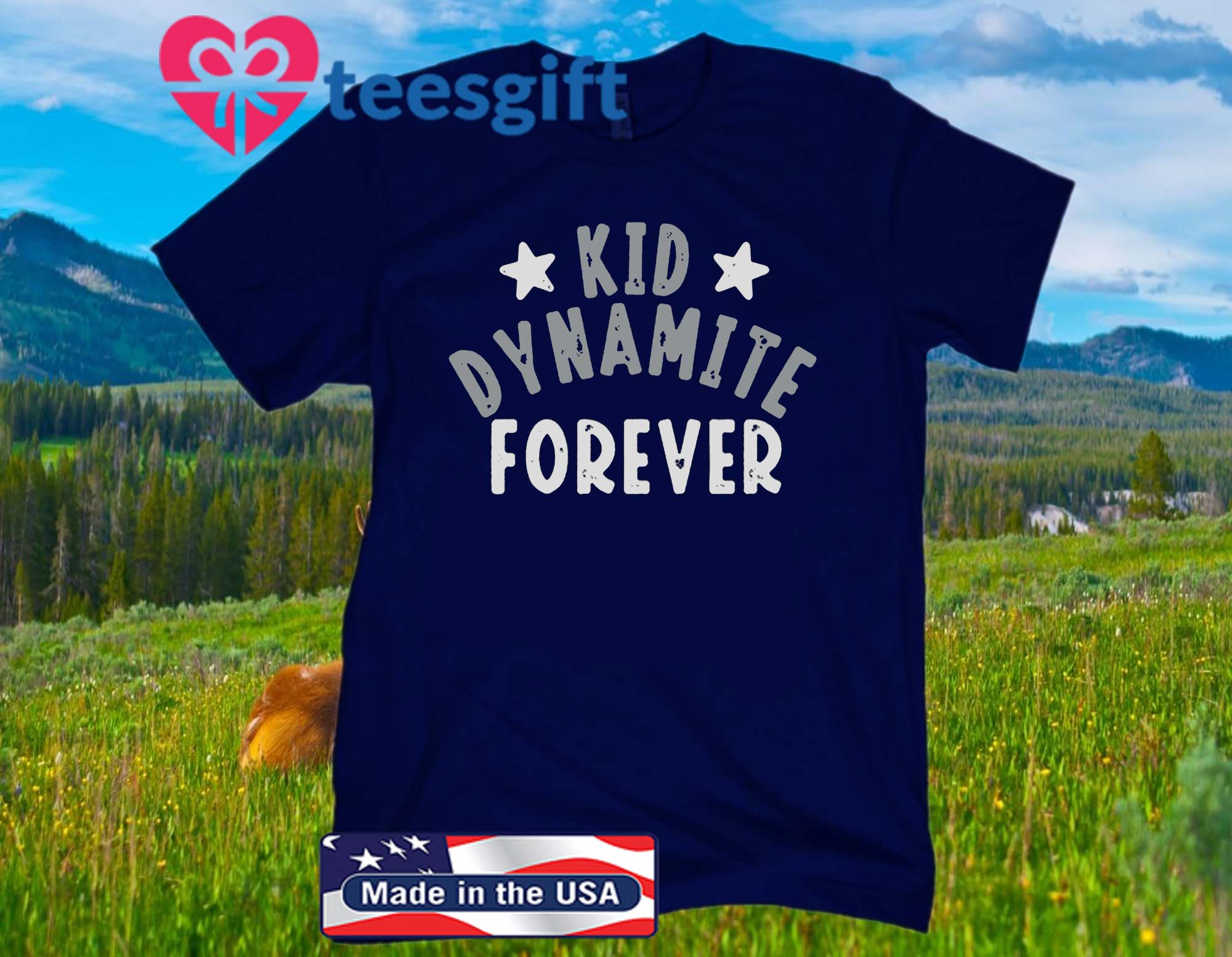 Kid Dynamite Forever Official T-Shirt