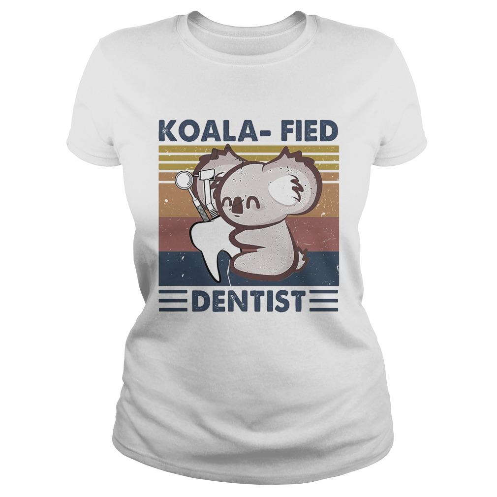 Koalafied dentist vintage retro  Classic Ladies