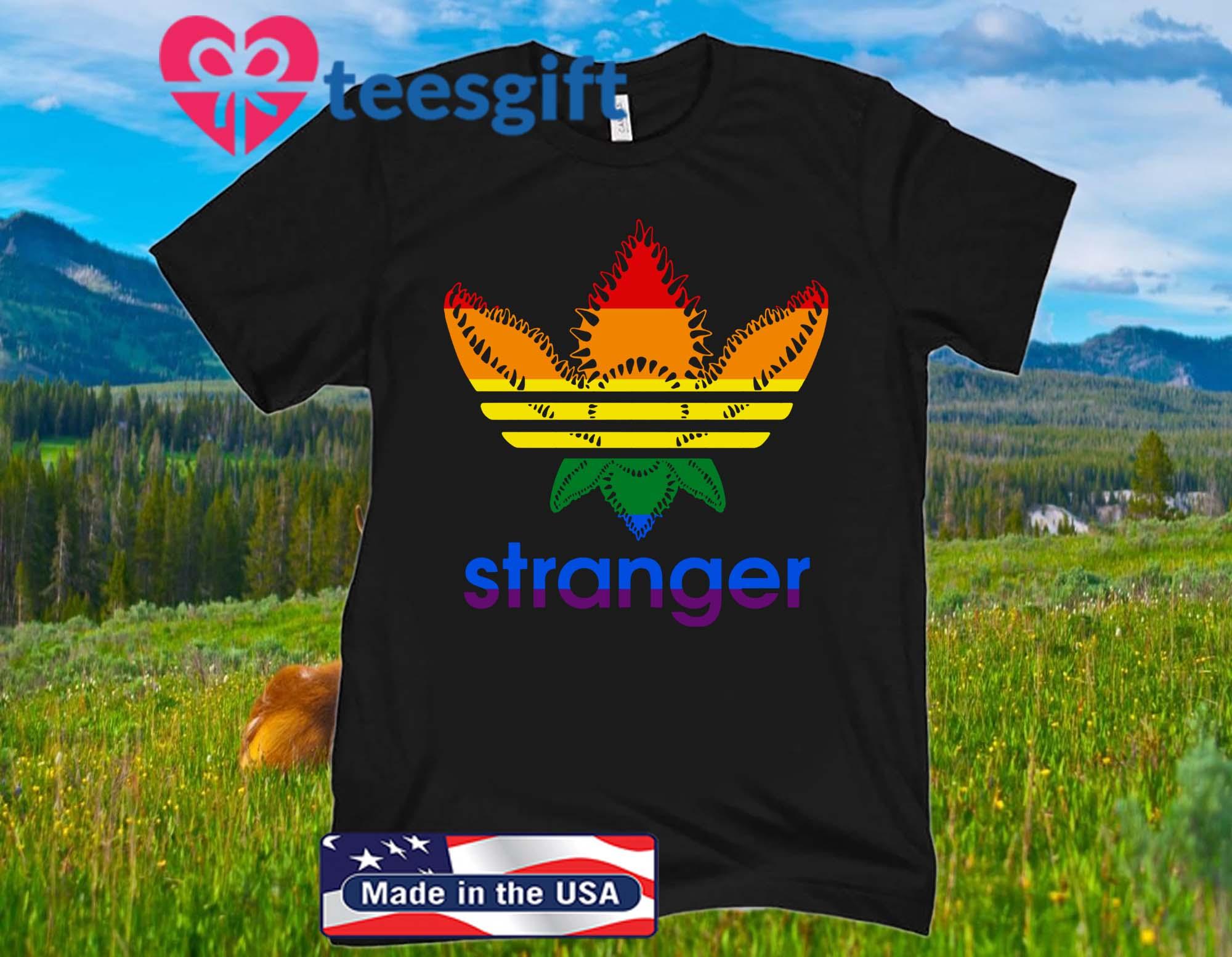 LGBT Adidas Stranger Things Unnisex Shirt