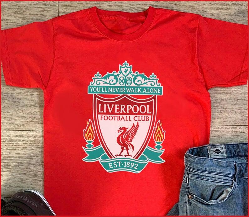 Liverpool FC Never Walk Alone League Champions 2020 Reds fan Football Fan T Shirt