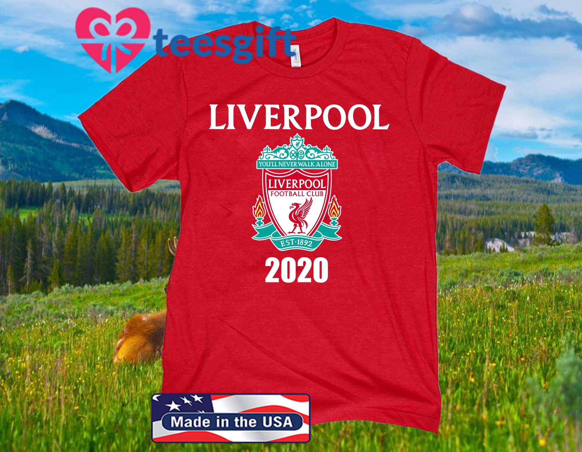 Liverpool FC Sports 2020 Official T-Shirt