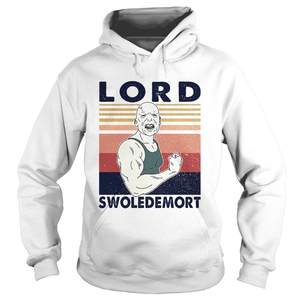 Lord swoledemort gym vintage retro  Hoodie