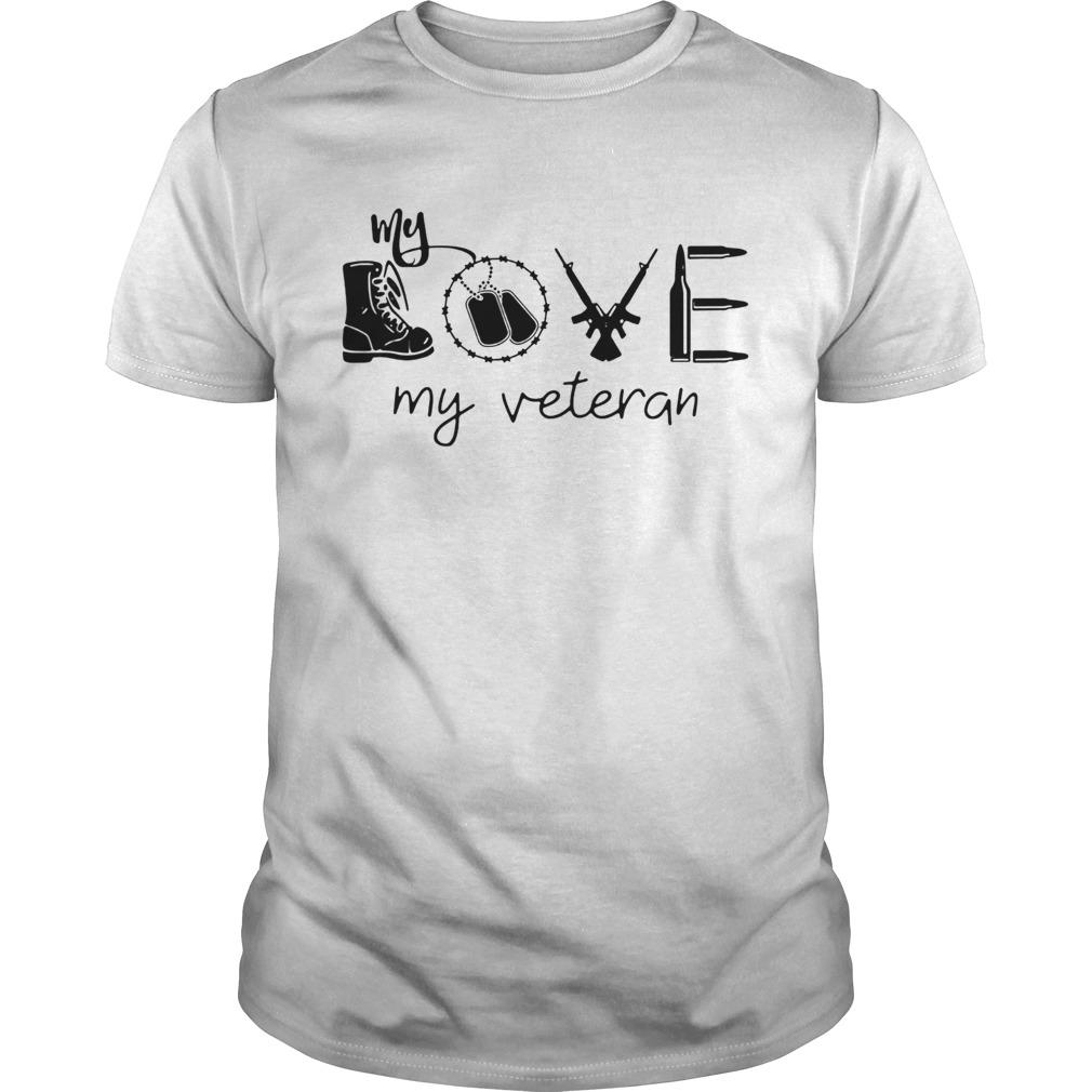 love my veteran 2020  Unisex