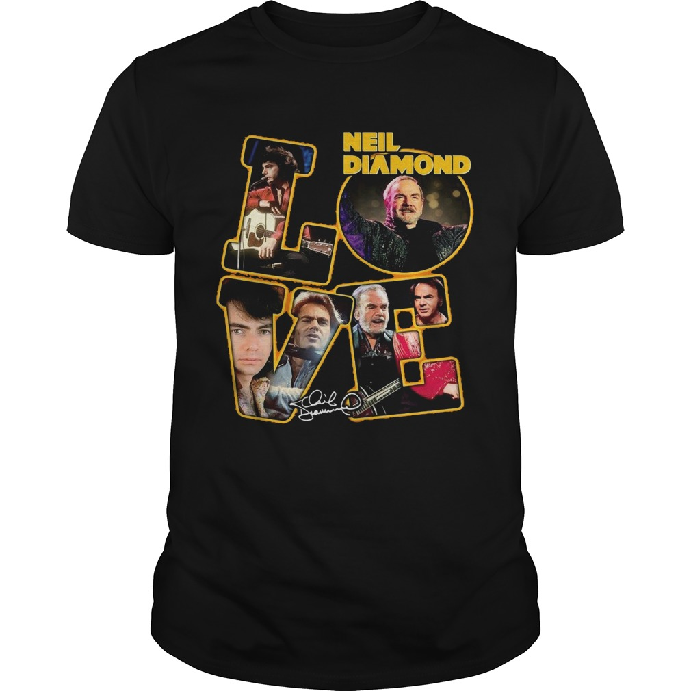 Love Neil Diamond Signature  Unisex
