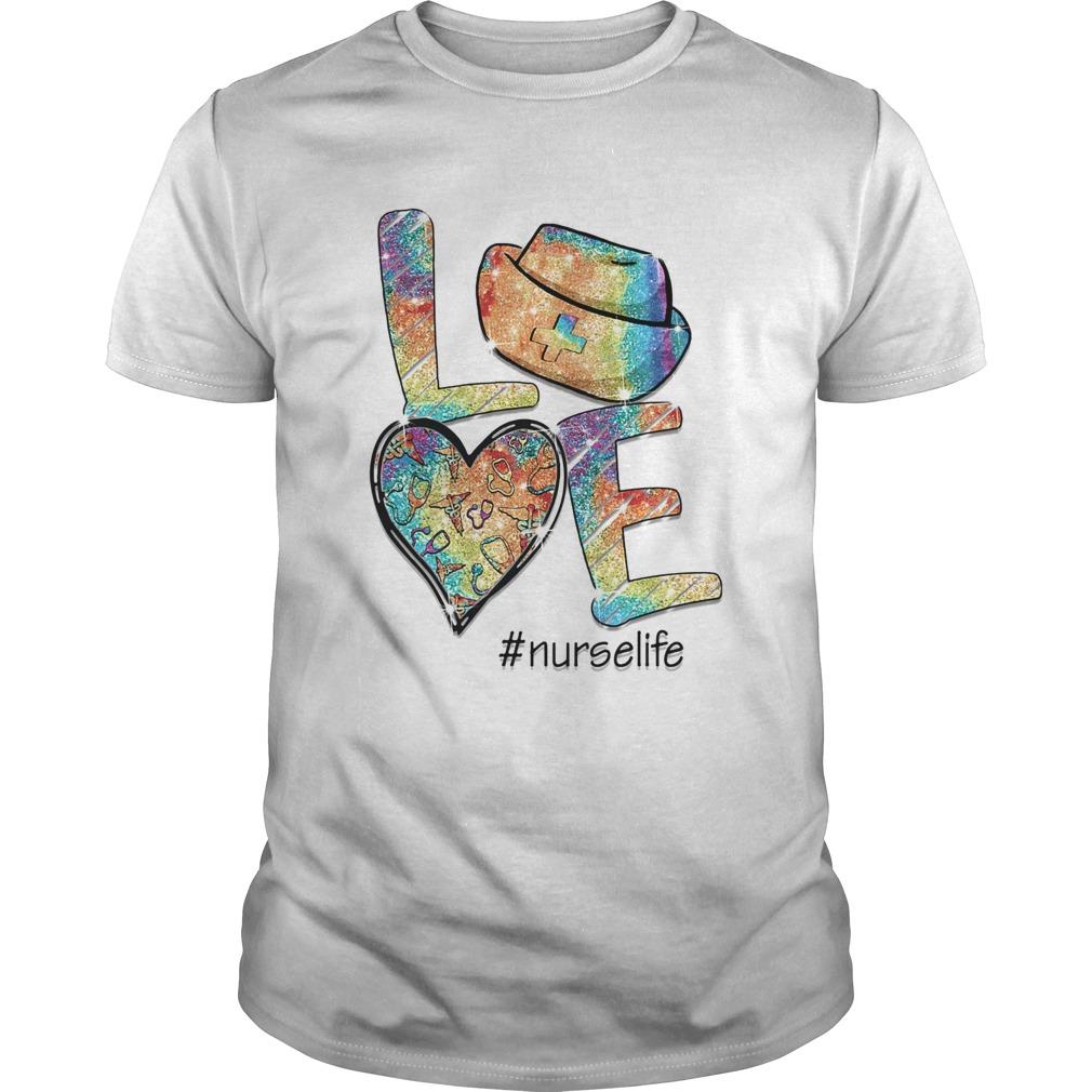 Love nurse life stethoscope heart  Unisex