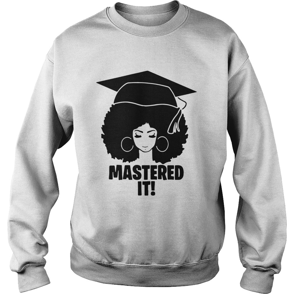 Mastered It Black Queen  Sweatshirt