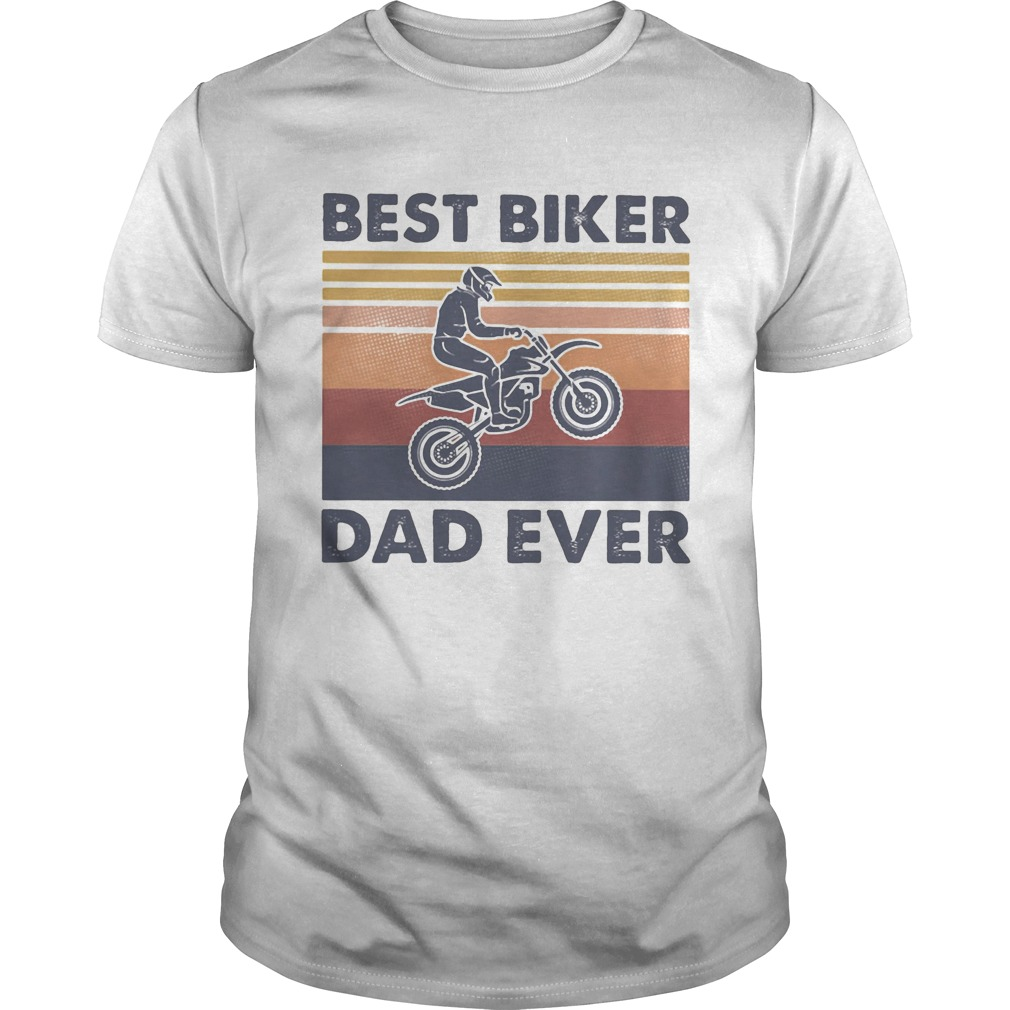 Motorcycle biker dad like a normal dad only cooler vintage retro  Unisex