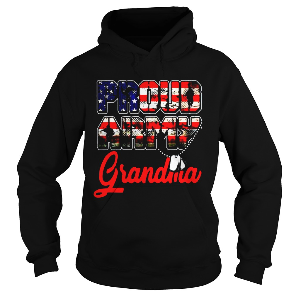 Proud Army Grandma Military Familys Mother Gifts  Hoodie