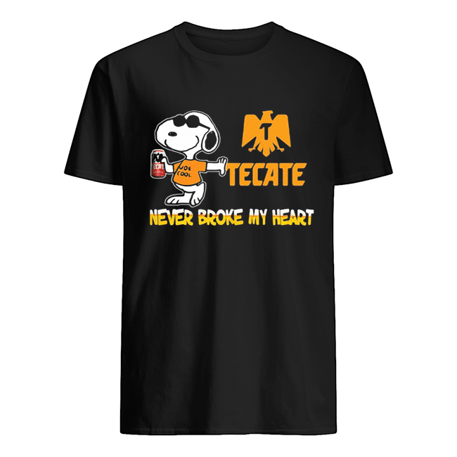 Snoopy tecate beer never broke my heart  Classic Men's T-shirt