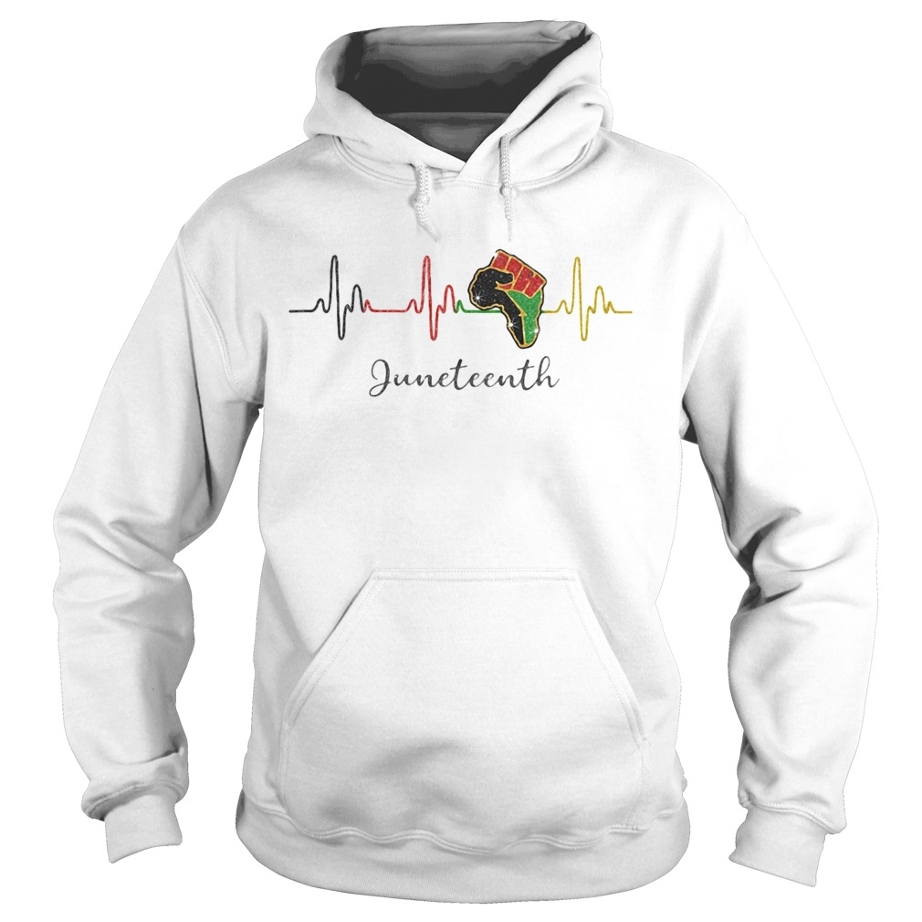 uneteenth Fist Circuit Black Lives Matter  Hoodie
