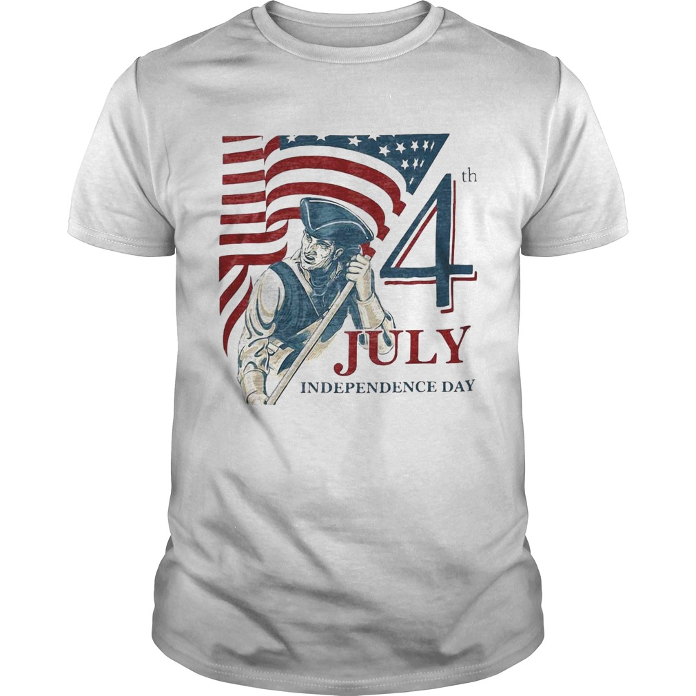 Vintage fourth 4th july independence day american flag  Unisex