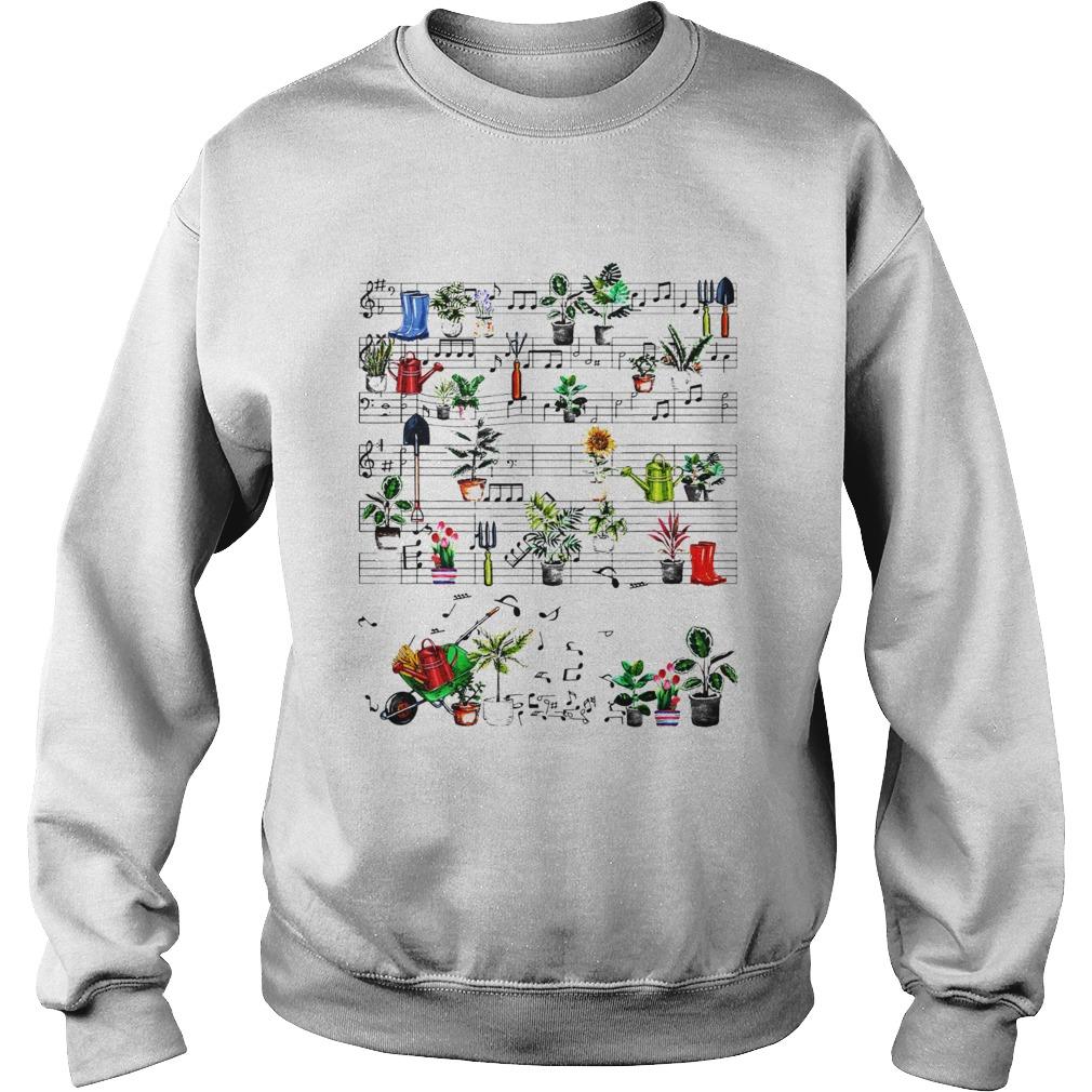 Wheelbarrow Garden Music  Sweatshirt