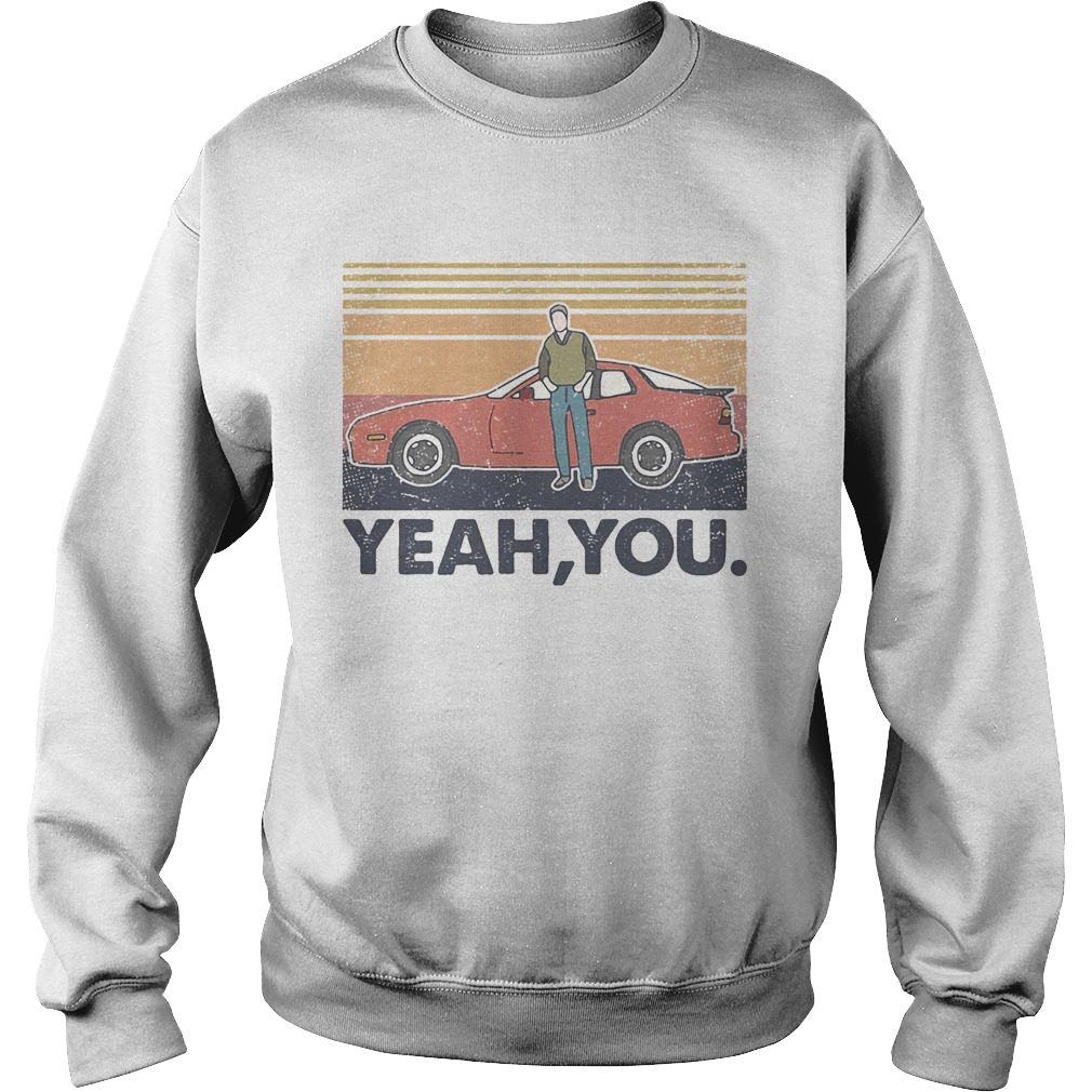 Year you car vintage retro  Sweatshirt