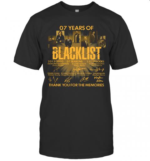 07 Years Of The Blacklist T-Shirt Classic Men's T-shirt