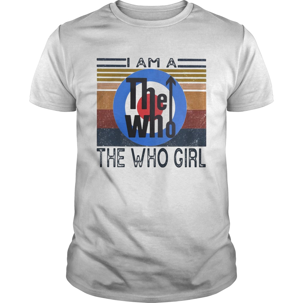 1594974210I am a the who girl vintage retro  Unisex