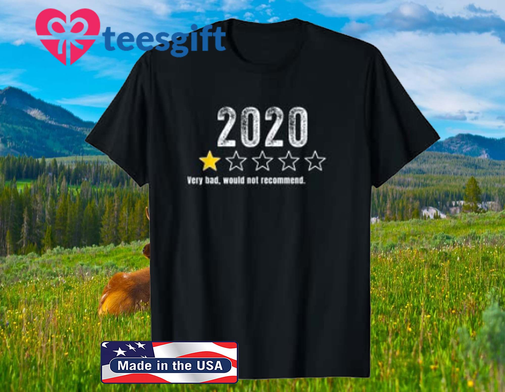 2020 Very Bad, Would Not Recommend Funny Gifts For Men Women T-Shirt