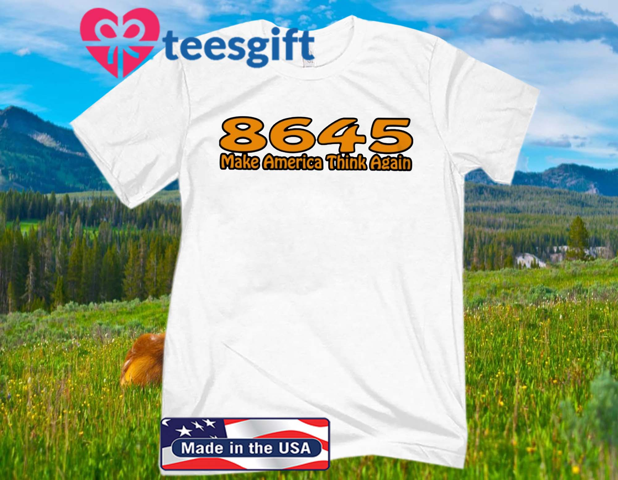86-45 Make America Think Again Official T-Shirt