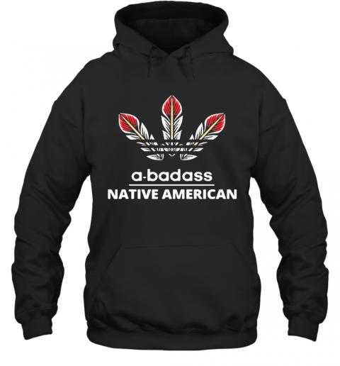 A Badass Native American Logo T-Shirt Unisex Hoodie