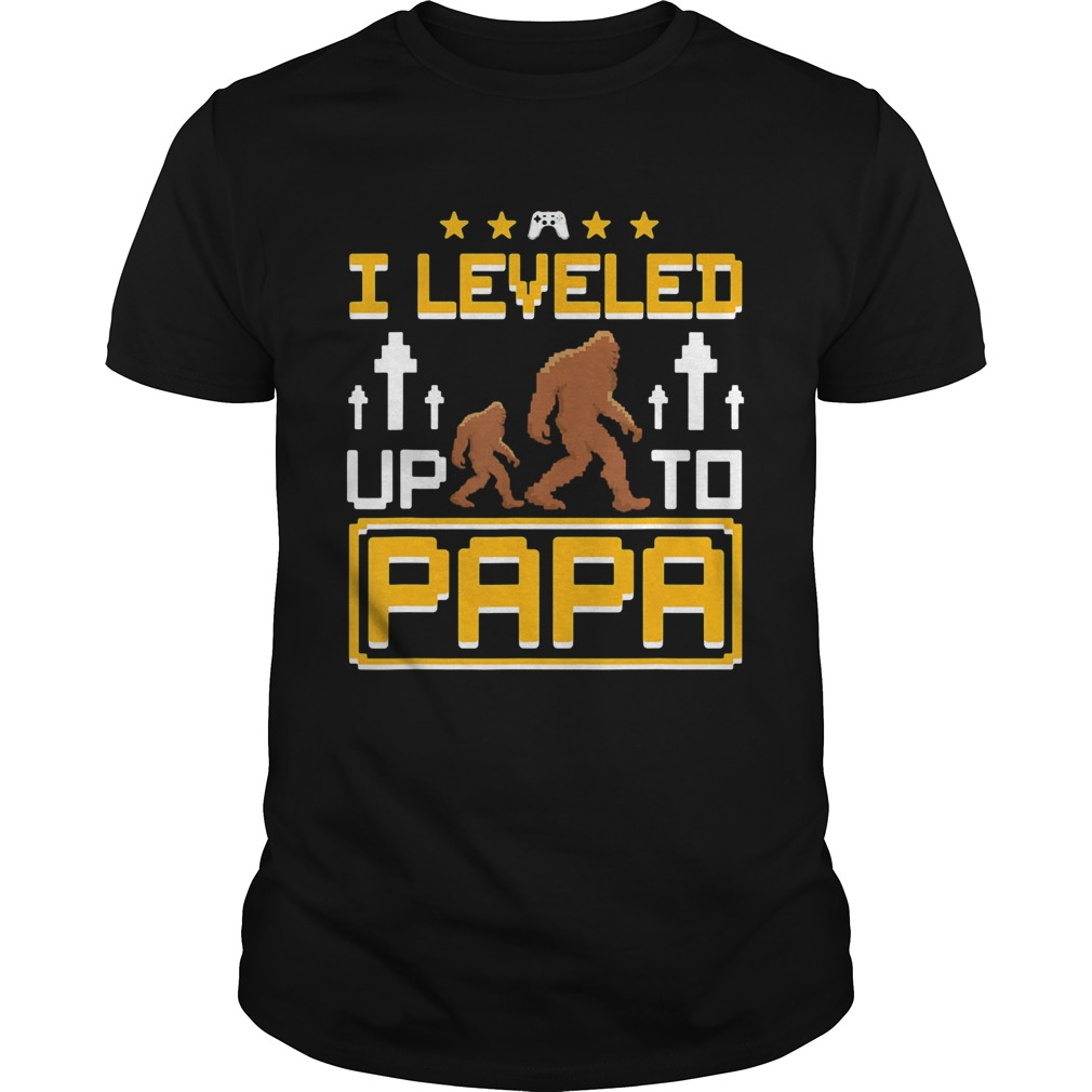 Bigfoot I leveled up to papa  Unisex