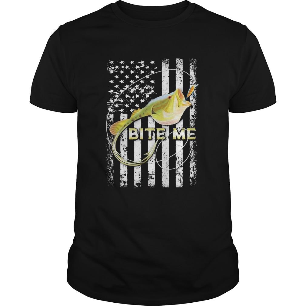 Bite me fish American  Unisex