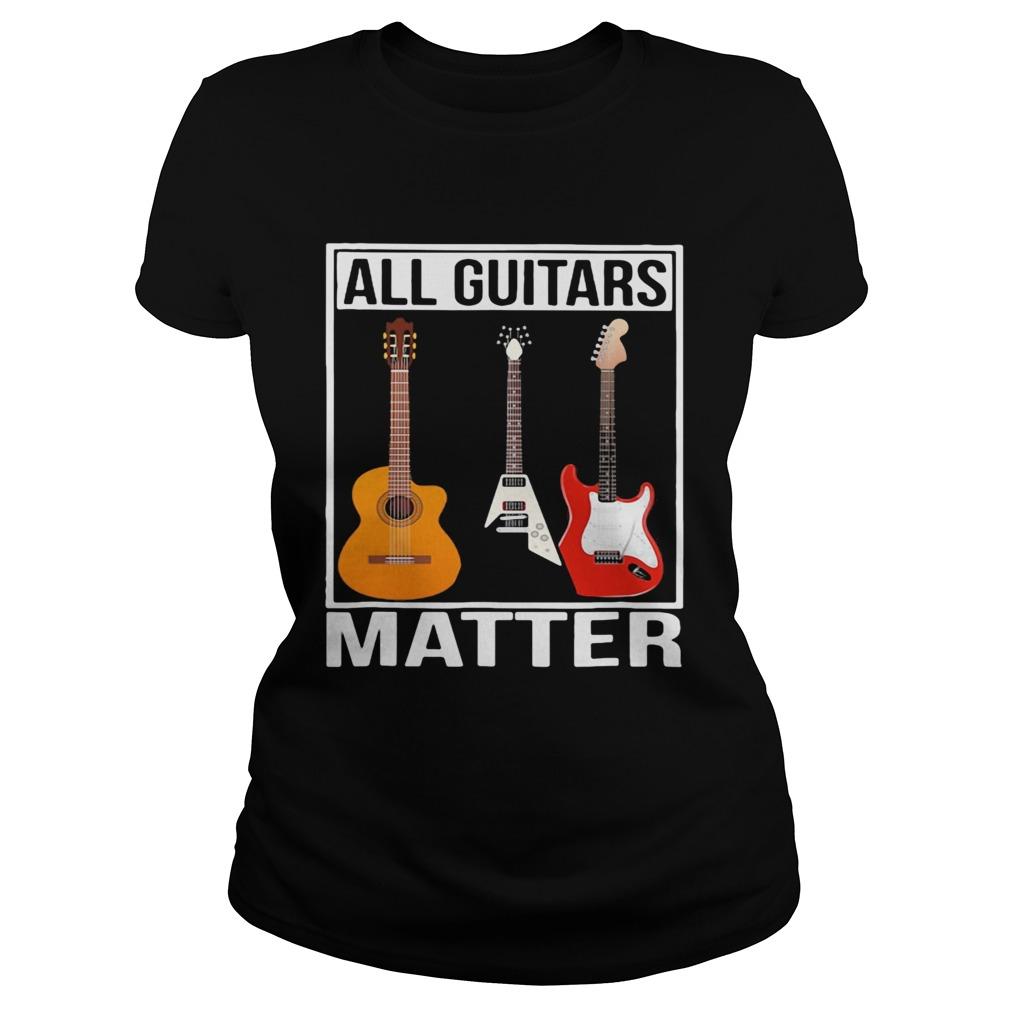 Black all guitars matter  Classic Ladies