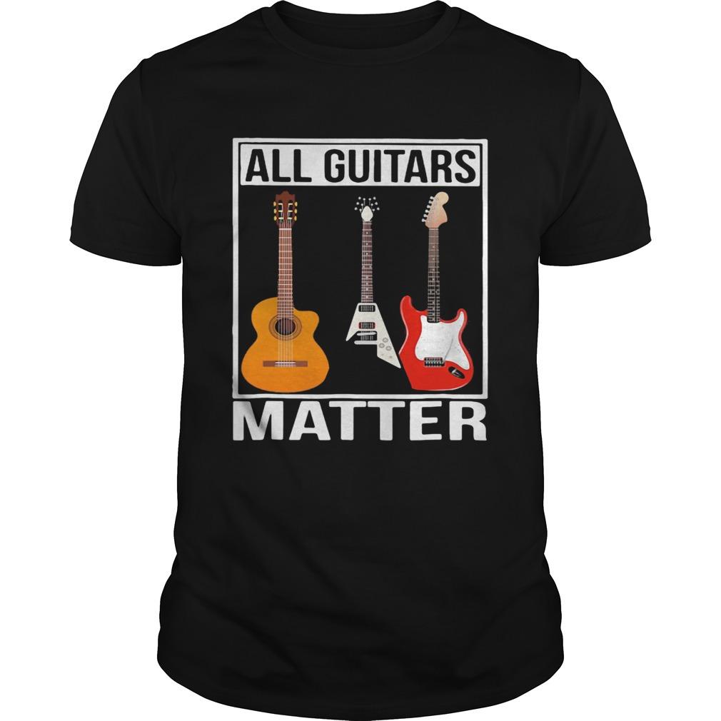 Black all guitars matter  Unisex