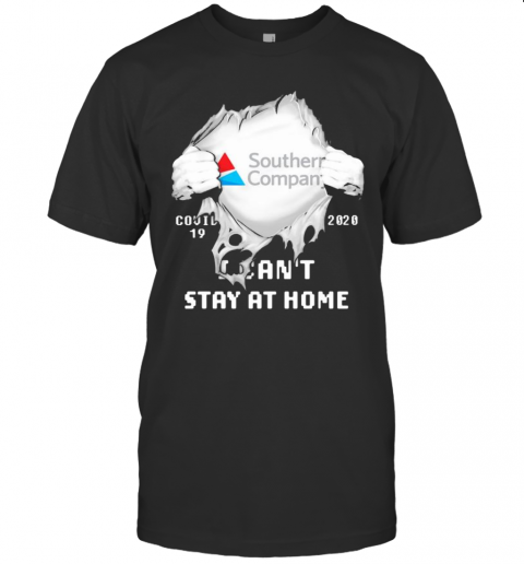 Blood Insides Southern Company Covid 19 2020 I Can'T Stay At Home T-Shirt Classic Men's T-shirt