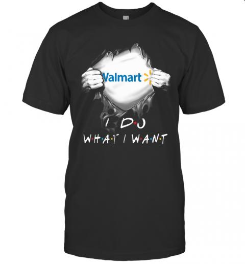 Blood Insides Walmart I Do What I Want T-Shirt Classic Men's T-shirt