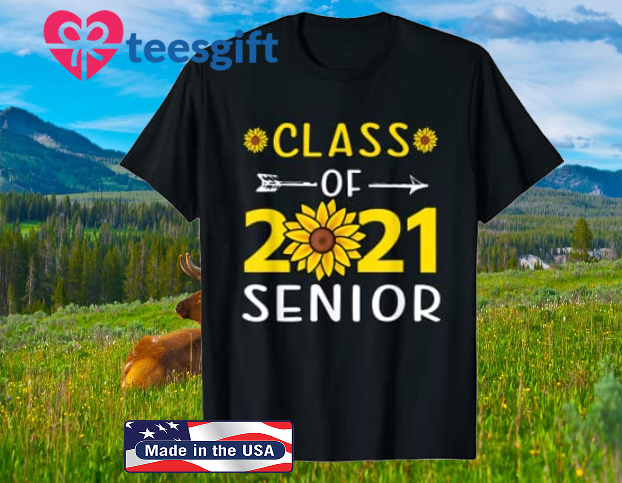 Class of 2021 Senior Back to School Classic T-Shirt