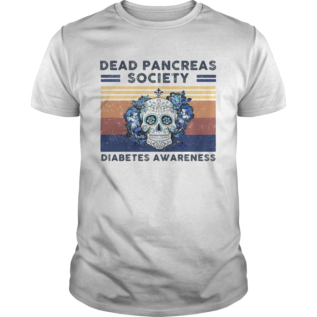 Dead Pancreas Society Diabetters Awareness Skullcap Vintage Retro  Unisex