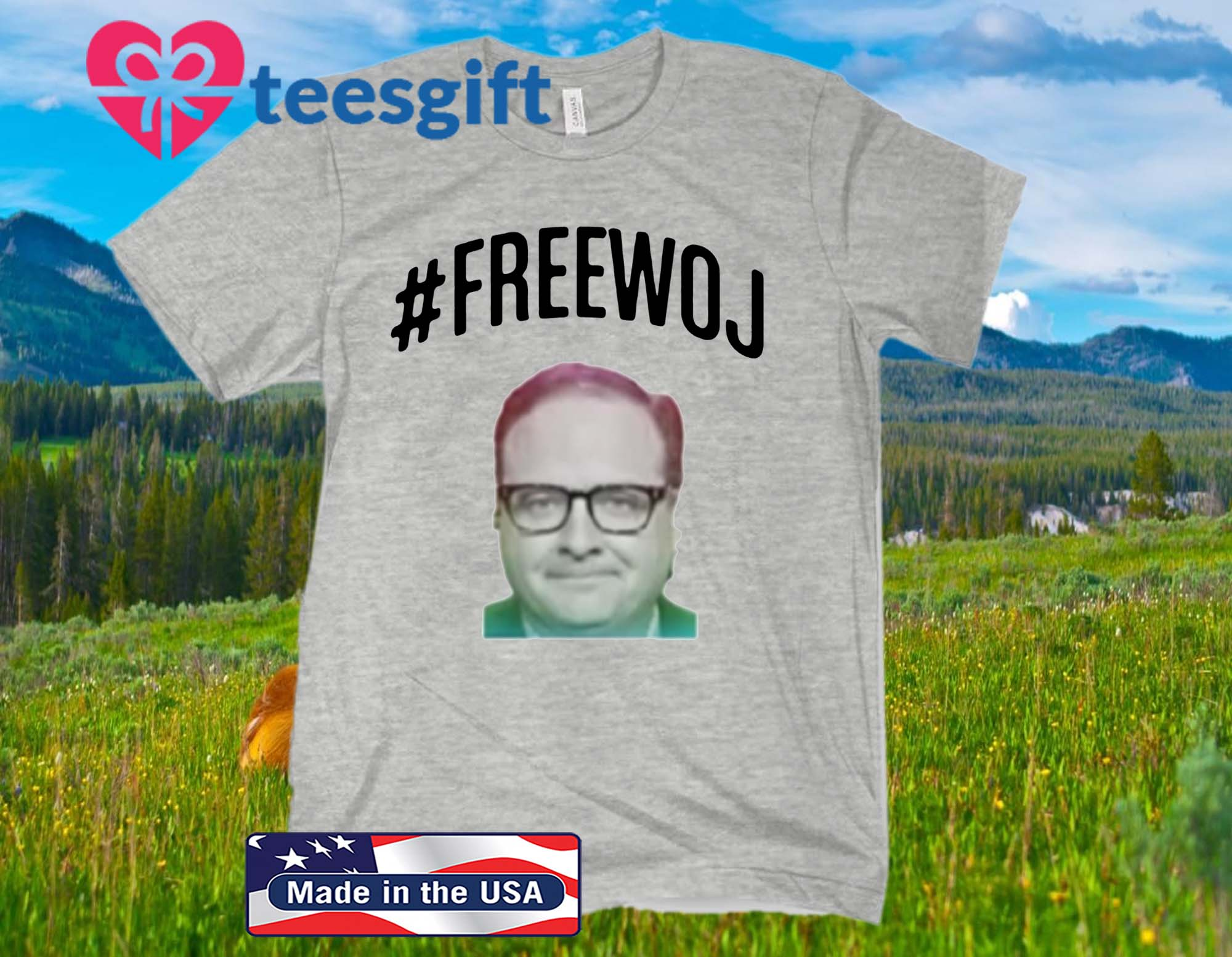 #FreeWoj T-Shirt – Please Free Woj