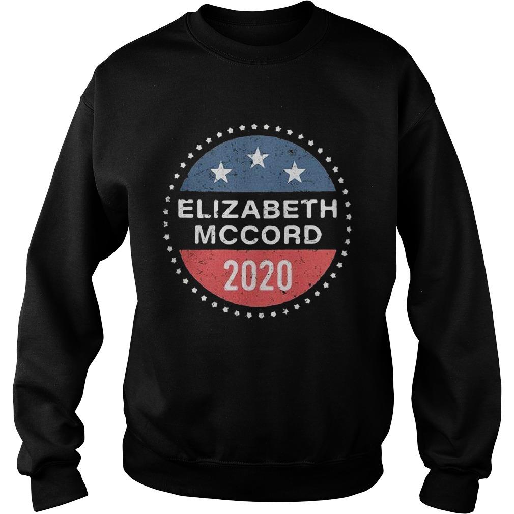 Elizabeth Mccord 2020 American Logo  Sweatshirt