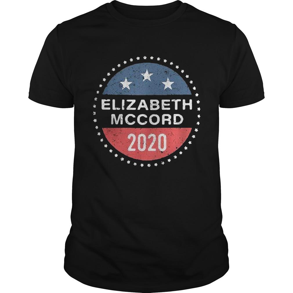 Elizabeth Mccord 2020 American Logo  Unisex